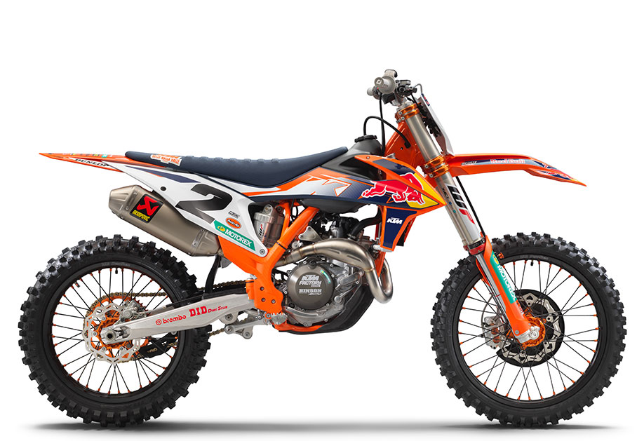 2021 450 SX-F FACTORY EDITION