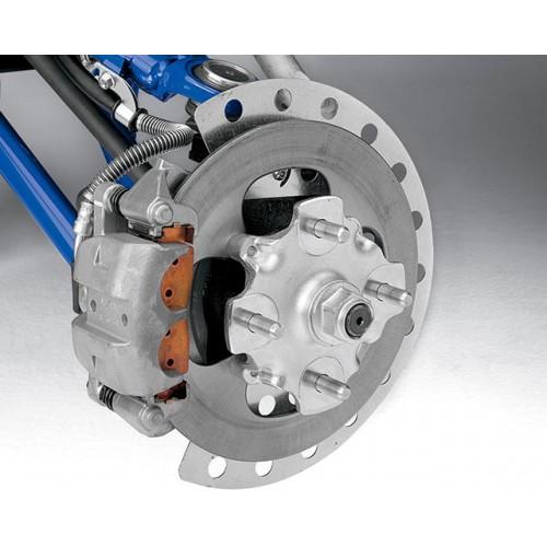 Powerful All-Wheel Disc Brakes