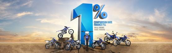 1% Enduro Finance Offer